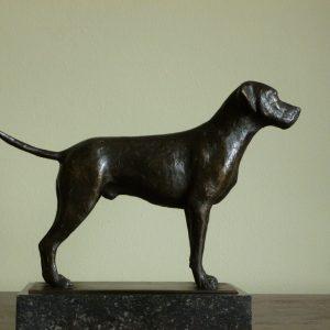 Jachthond, ca 20 cm hoog