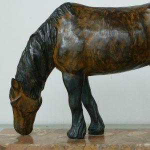 Fell pony, ca 40 cm hoog