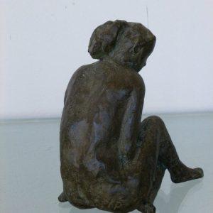 Eva, brons, ca 15 cm hoog