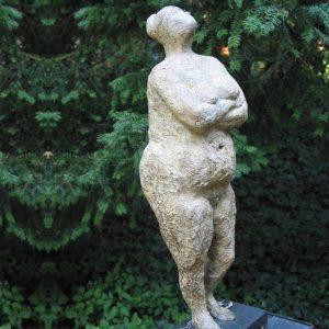 Femme monumentale - kleine uitvoering - ca 60 cm hoog brons