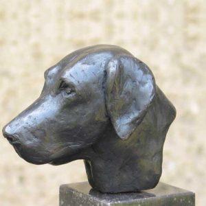 kop-labrador-brons-Yvonne-Piller